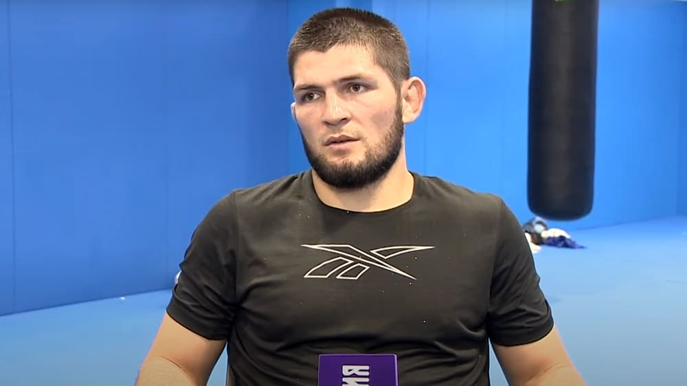Khabib Nurmagomedov gave a prediction for the fight with Justin Gaethje