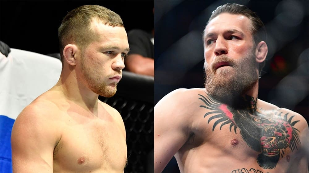 Petr Jan turned to Conor McGregor