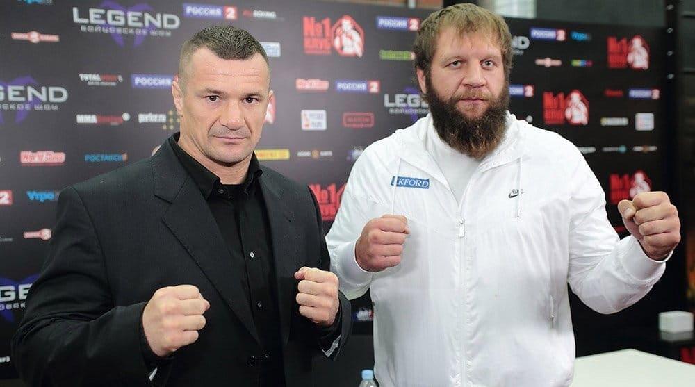 Александр Емельяненко может провести матч-реванш с Мирко Филиповичем