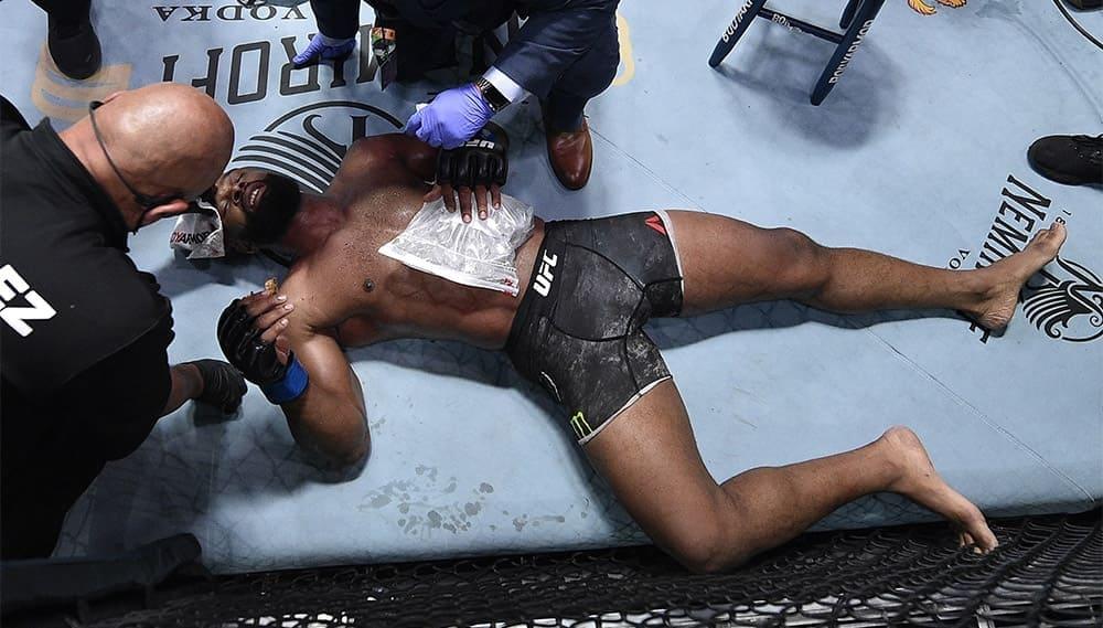 Тайрон Вудли сломал ребро в поединке против Колби Ковингтона
