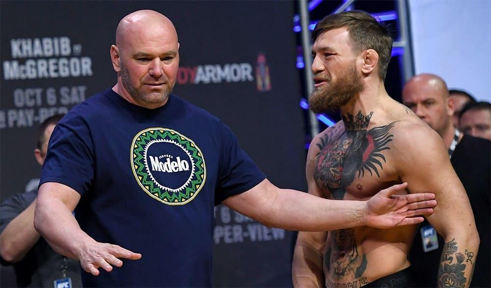 Dana White reacted to Conor McGregor's arrest