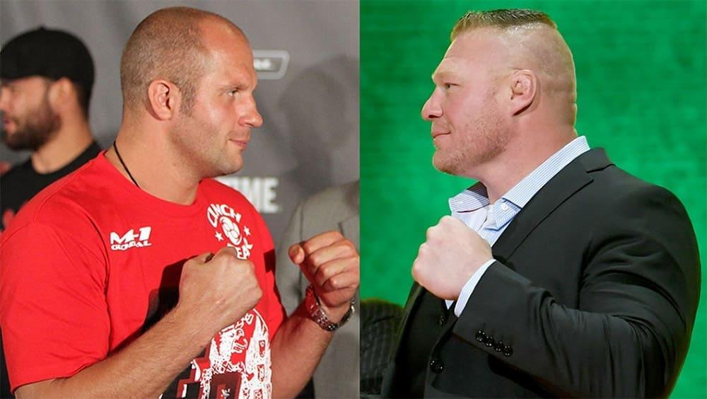 Bellator may organize a fight between Fedor Emelianenko and Brock Lesnar