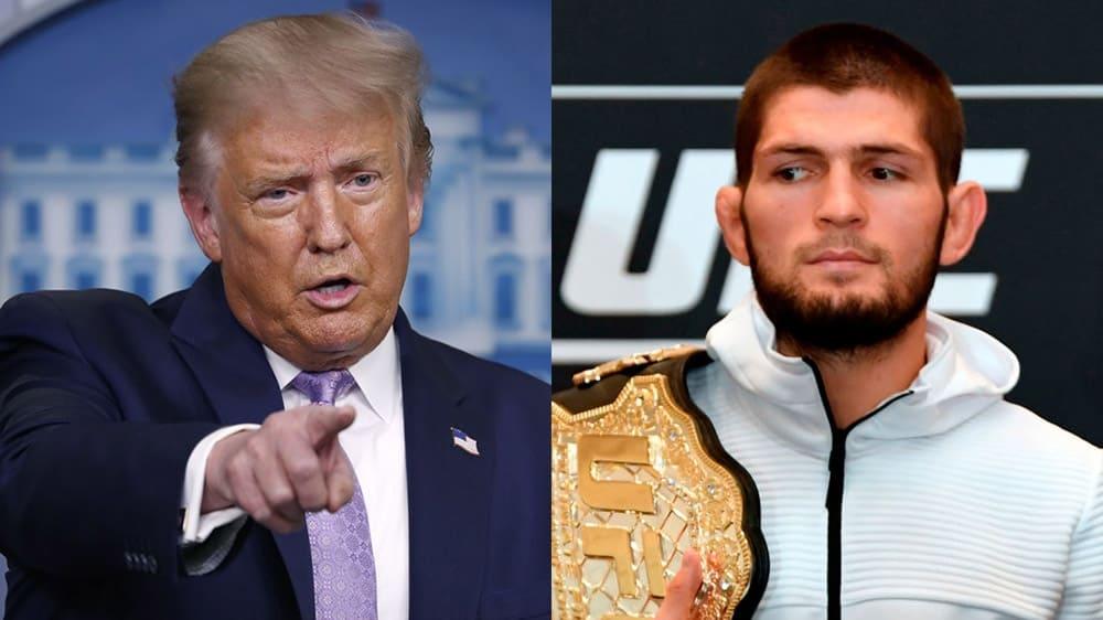 Donald Trump named Khabib Nurmagomedov the best fighter in the world