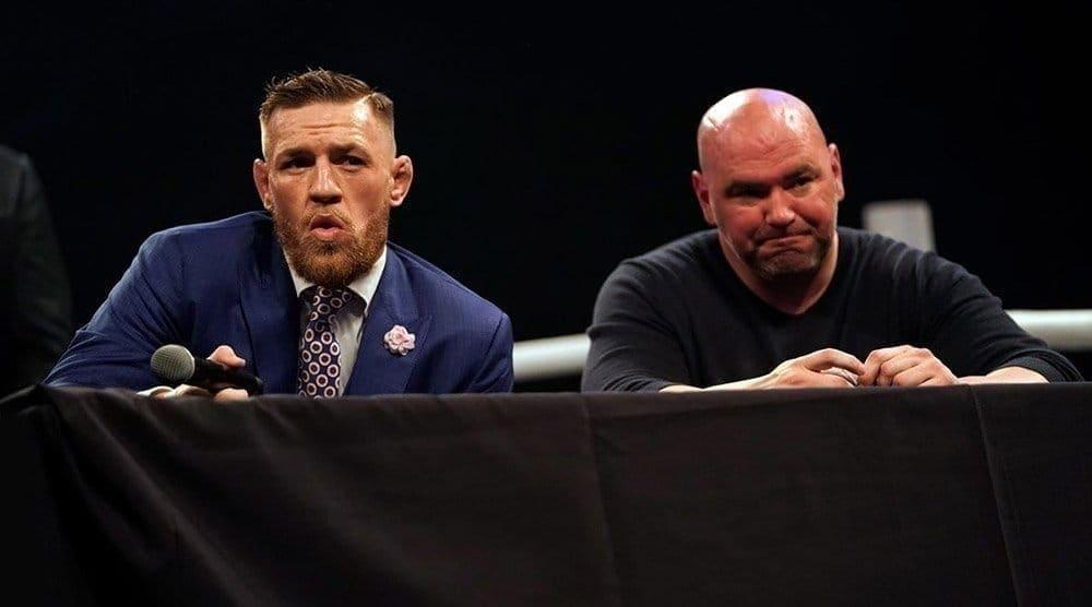 Президент UFC прокомментировал инцидент в баре с участием Конора МакГрегора