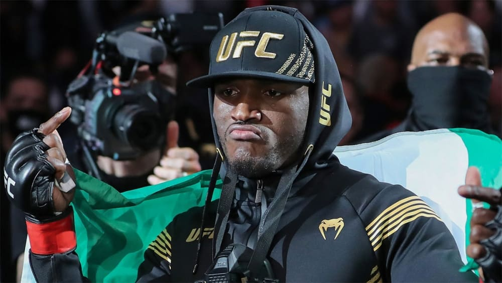 Kamaru Usman wanted to replace Nate Diaz against Leon Edwards at UFC 262