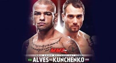Алексей Кунченко против Тиаго Алвеса на UFC Fight Night 136 в Москве