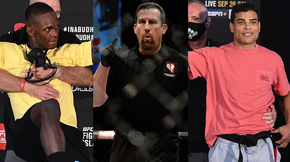 John McCarthy gave a prediction for the fight between Israel Adesanya and Paulo Costa