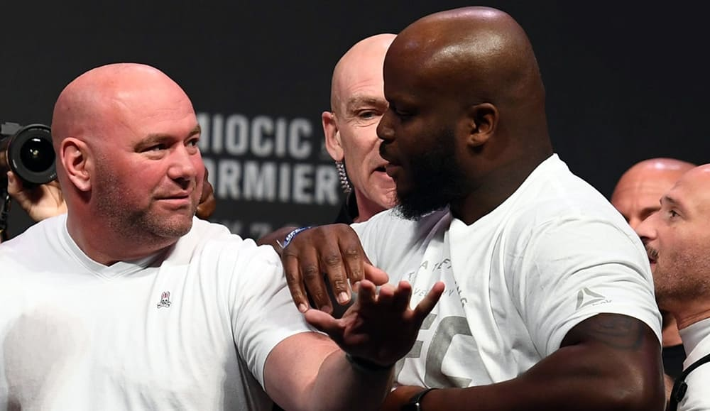 UFC news: Dana White assessed the chances of Derrick Lewis in the fight against Cyril Gane