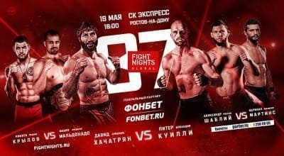 Fight Nights Global 87: видео и результаты