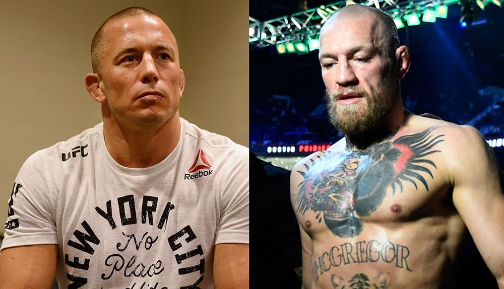 Georges St-Pierre gave advice to Conor McGregor