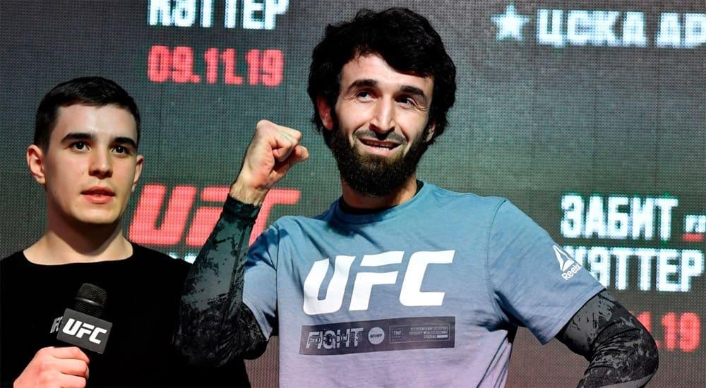Боец UFC Магомедшарипов сбросил 4кг наименее  чем засутки
