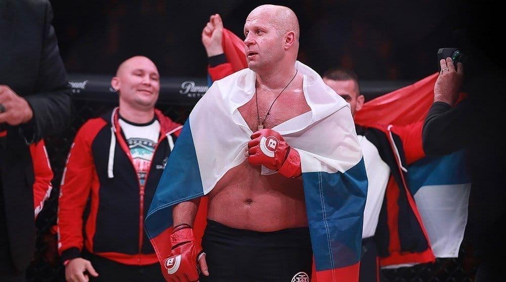 Ф. Емельяненко иБэйдер встретятся вфинале Гран-при Bellator 26января