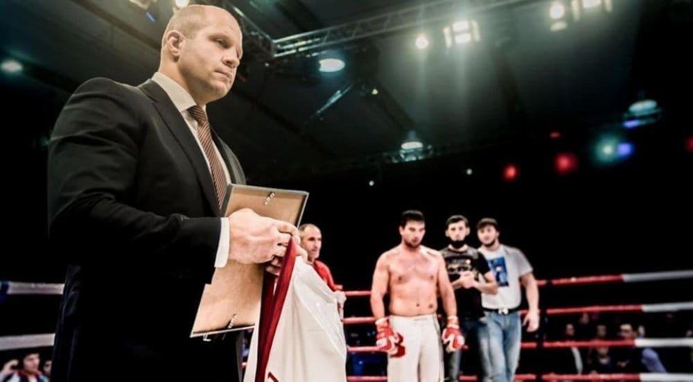 Фёдор общался с региональным репортером шоу the no holds barred по имени jaime martinez