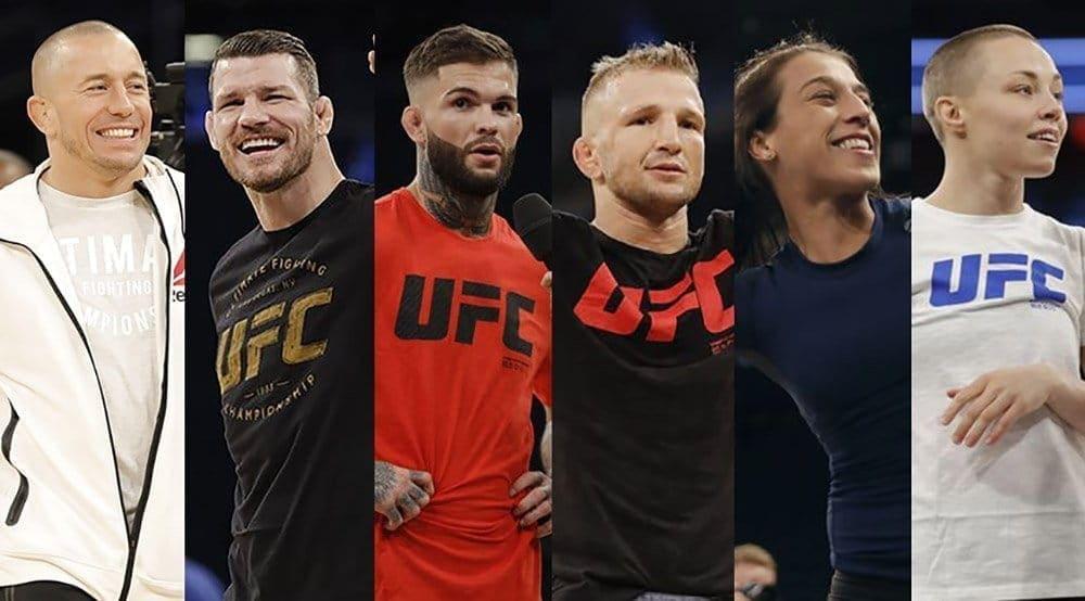 UFC 217: слова перед боем