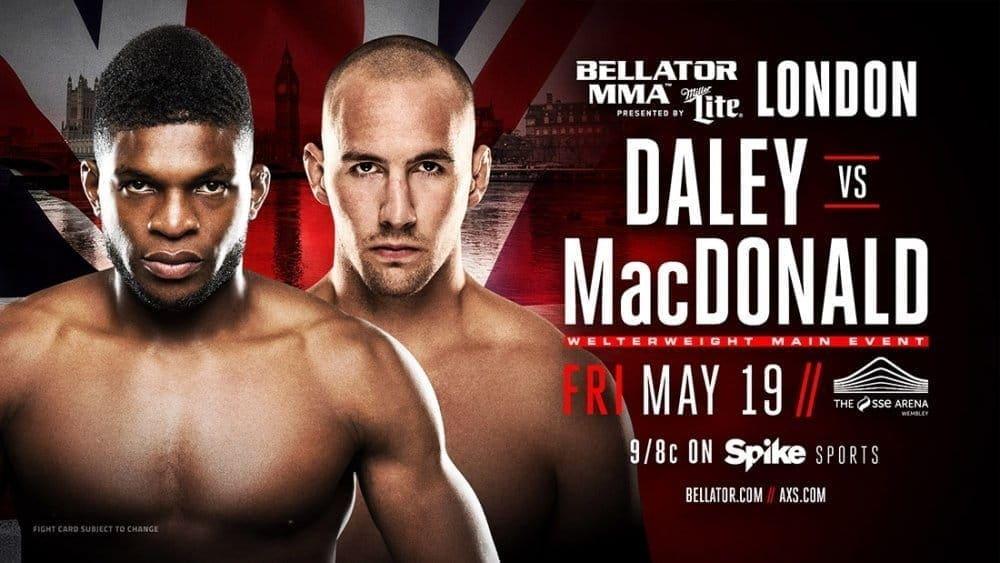 Пол Дэйли против Рори МакДональда на Bellator 179 в Лондоне
