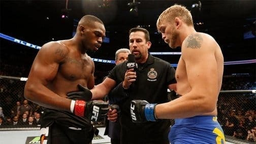 Слух: матч-реванш Джона Джонса и Александра Густафссона может состояться на UFC 218 в Детройте