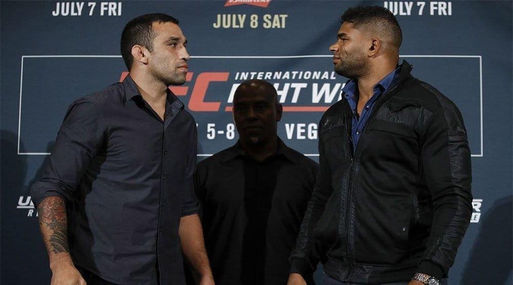 Фабрисио Вердум и Алистар Оверим рассчитывают на титульный шанс в случае победы на UFC 213