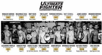 The Ultimate Fighter 24 (эпизод 6)