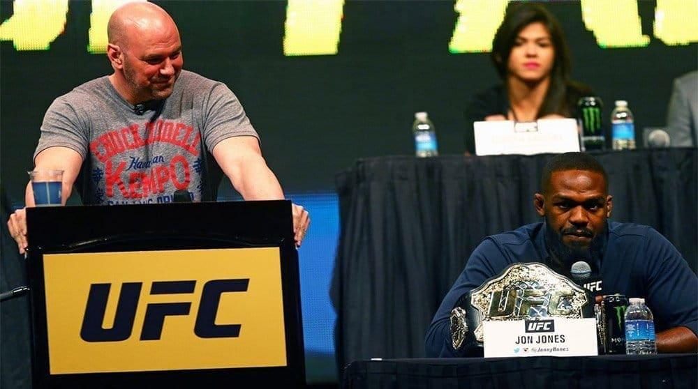 Дана Уайт: «Мы не разговаривали с Джоном Джонсом с тех пор, как он выбыл из UFC 200»