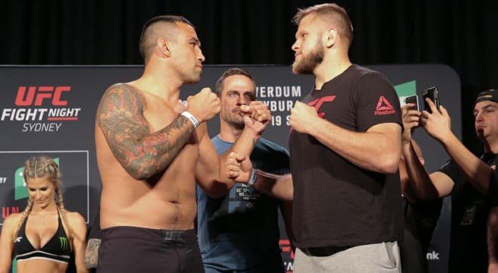 UFC Fight Night 121: результаты официального взвешивания