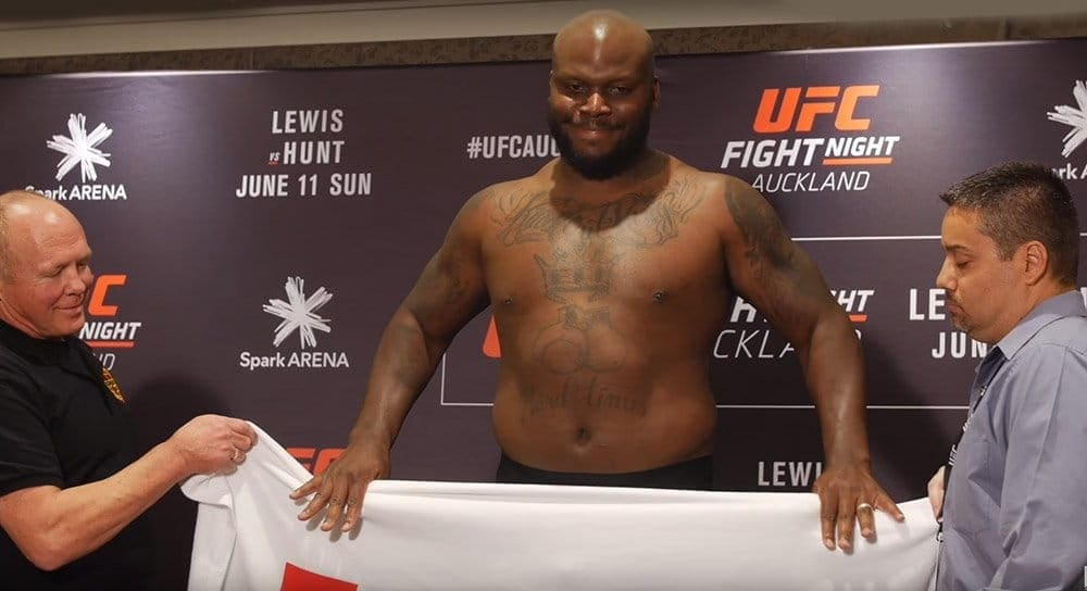 UFC Fight Night 110: процедура официального взвешивания