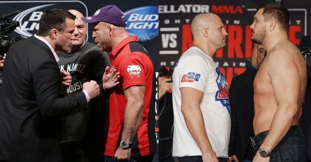 Сильва против Соннена и Емельяненко против Митриона на Bellator 180 в Нью-Йорке