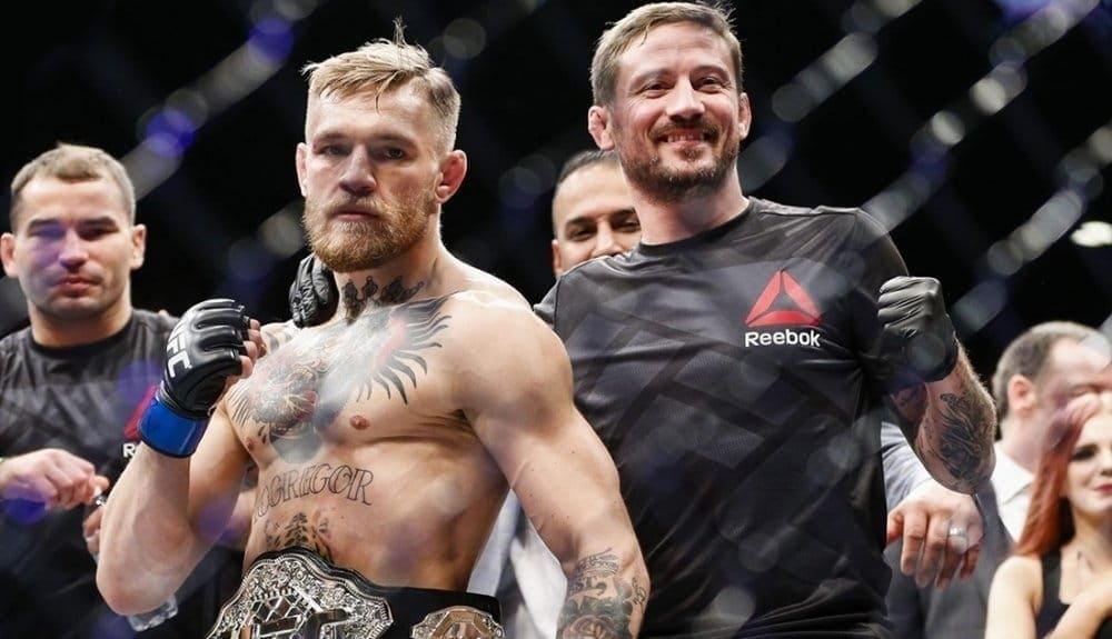 Тренер МакГрегора: «Мы снова шокируем мир, а в декабре выйдем на защиту титула UFC»