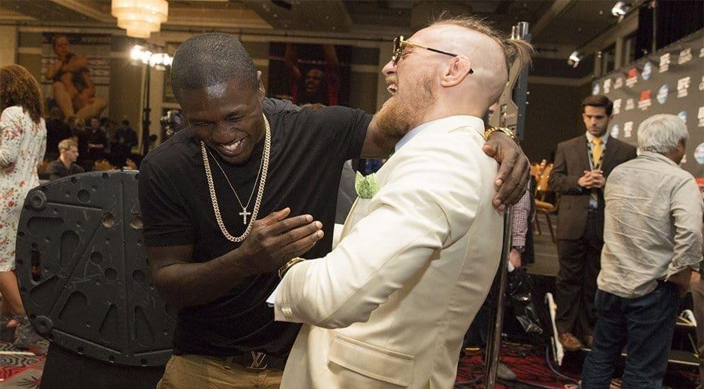 Андре Берто: «Если в MMA есть парень, способный побить Флойда, он должен быть таким, как Конор»