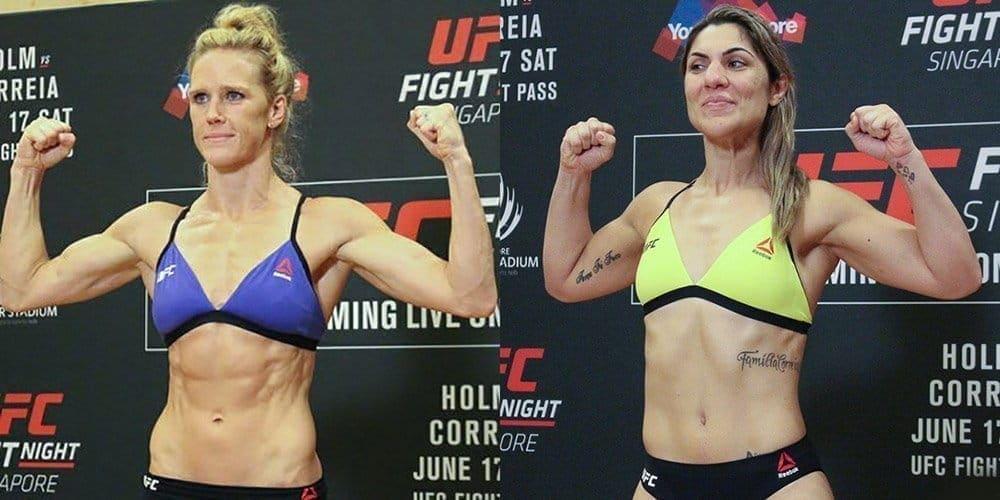 UFC Fight Night 111: результаты официального взвешивания