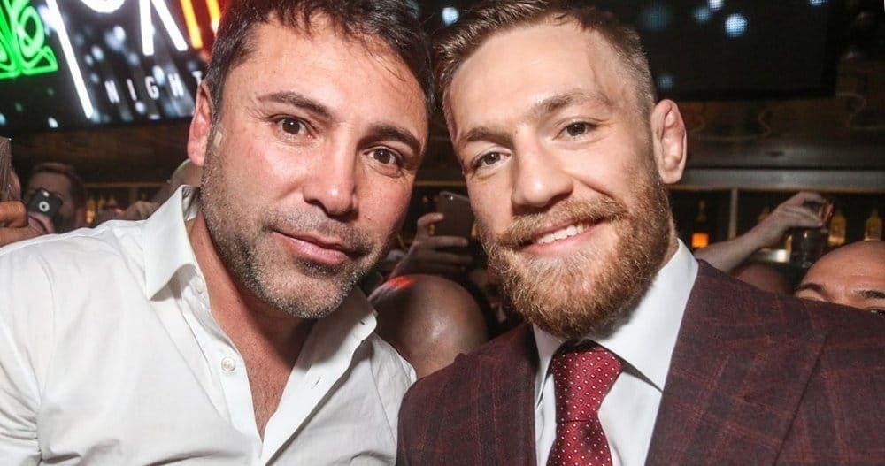ДеЛаХойа вызвал Макгрегора набой поправилам бокса