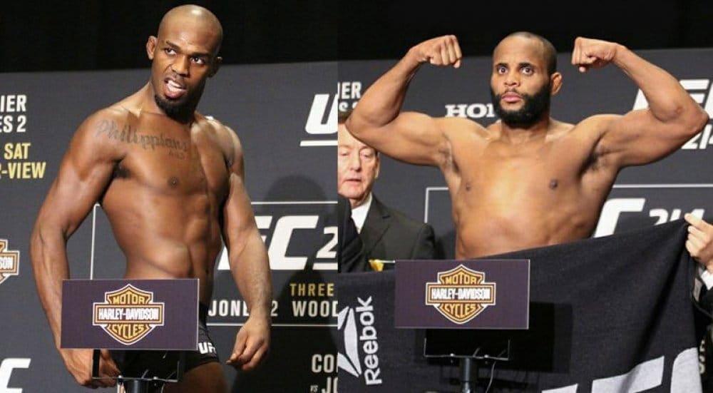 UFC 214: результаты официального взвешивания