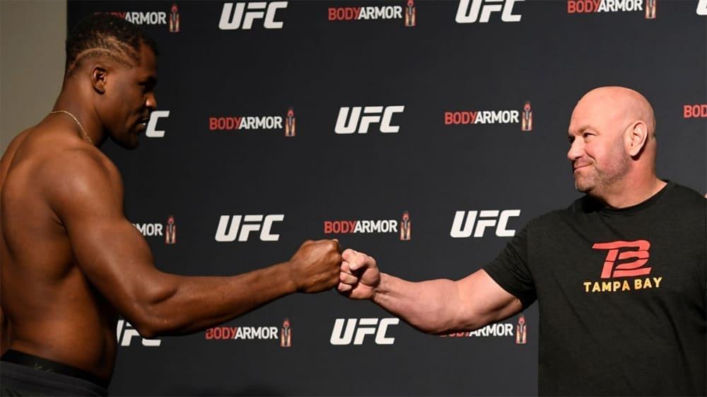 Глава UFC дал ответ Фрэнсису Нганну