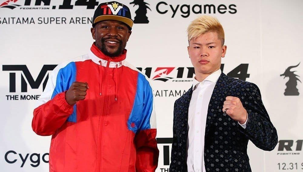 Мэйуэзер отказался отбоя сяпонским кикбоксером поправилам MMA