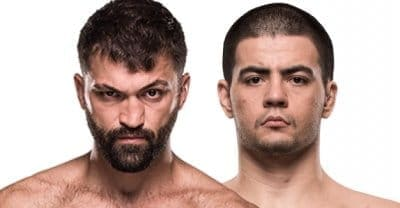 Андрей Орловский против Джуниора Албини на UFC Fight Night 120 в Норфолке