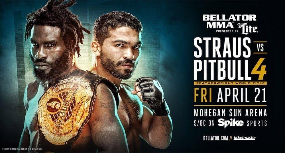Дэниел Штраус и Патрисио Фрейре возглавят турнир Bellator 178