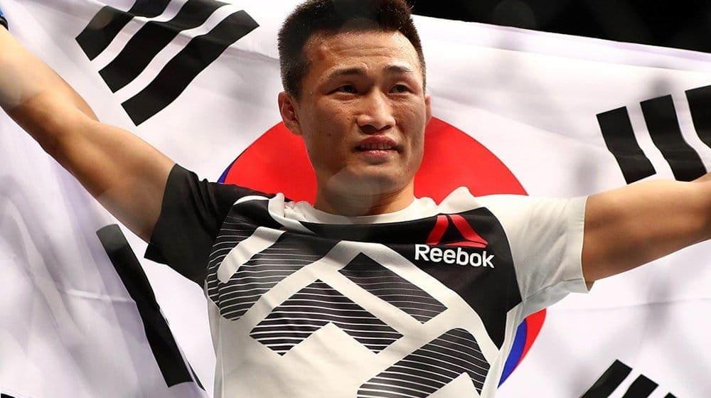 Корейский Зомби выбывает из состава участников UFC 214