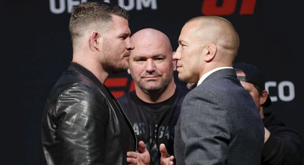 Поединок Майкла Биспинга и Джорджа Сент-Пьерра возглавит турнир UFC 217