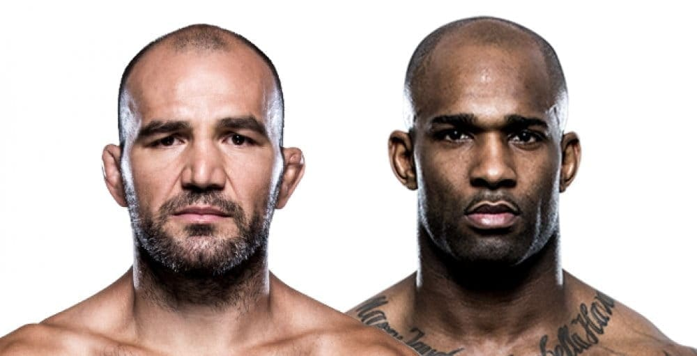 Гловер Тейшейра против Джими Манувы на UFC 208 в Анахайме